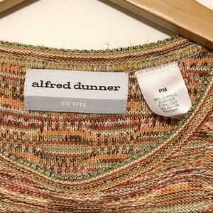 Alfred Dunner Sweaters - Alfred Dunner Colorful Striped Sweater